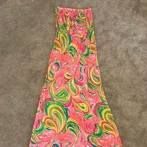 Lilly Pulitzer Maxi Dress NWT - Flamingos